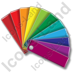 Color Matching Fan 1 Icon