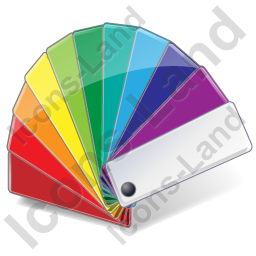 Color Matching Fan 2 Icon, PNG/ICO, 256x256