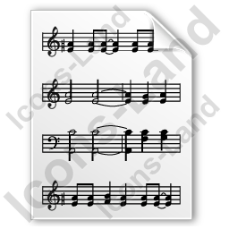 File Music Notes Icon