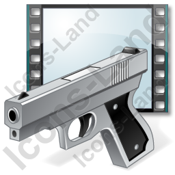 Film Genre Action Icon
