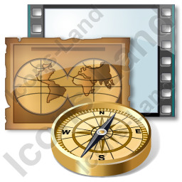 Film Genre Adventure Icon, PNG/ICO, 256x256