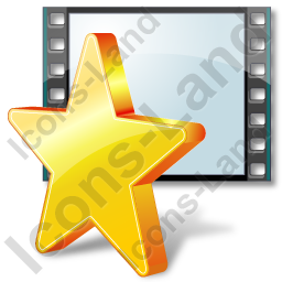 Film Genre Favorite Icon, AI, 256x256