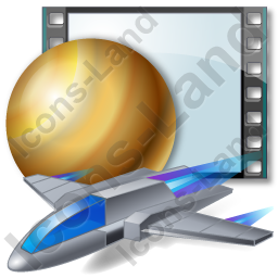 Film Genre Science Fiction Icon, PNG/ICO, 256x256