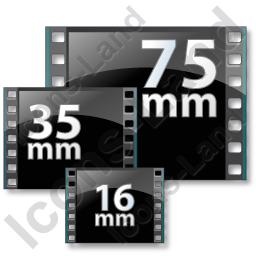 Film Formats Icon, PNG/ICO, 256x256
