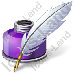 Ink Quill Pen Icon