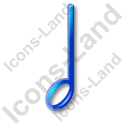 Music Notation Note 4 Icon, PNG/ICO, 256x256