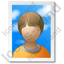 Picture Portrait Icon, PNG/ICO, 256x256