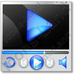 Player Mode Play 2 Icon, PNG/ICO, 256x256