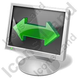 Screen Mode Wide Screen Icon, PNG/ICO, 256x256