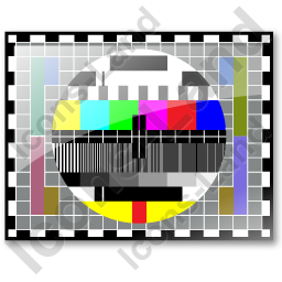 Test Pattern PAL Icon