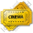 Cinema Ticket Icon, PNG/ICO, 48x48