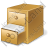 Filing Cabinet Files Icon