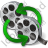 Film Reel Convert Icon