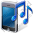 Mobile Phone Ringtone Icon, PNG/ICO, 48x48