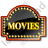 Movie Theater Sign 1 Icon, PNG/ICO, 48x48