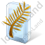 Award Golden Palm Icon, PNG/ICO, 64x64