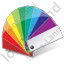 Color Matching Fan 2 Icon, PNG/ICO, 64x64
