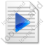 File Playlist Icon, PNG/ICO, 64x64