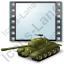 Film Genre War Tank Icon, PNG/ICO, 64x64