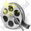 Film Reel Effects Icon, PNG/ICO, 64x64