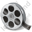 Film Reel Filmstrip Icon