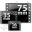 Film Formats Icon, PNG/ICO, 64x64