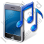Mobile Phone Ringtone Icon, PNG/ICO, 64x64