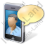 Mobile Phone Videocall Icon
