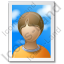 Picture Portrait Icon, PNG/ICO, 64x64