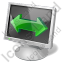 Screen Mode Wide Screen Icon, PNG/ICO, 64x64