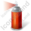 Sprayer Red Icon