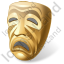 Theater Mask Drama Icon
