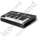 Electronic Keyboard Icon, PNG/ICO, 128x128