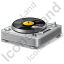 DJ Turntable Icon