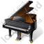 Piano Icon, PNG/ICO, 64x64