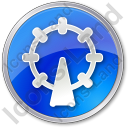 Attraction Circle Icon