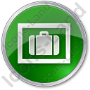 Baggage Storage Circle Icon