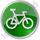 Bicycle Circle Icon