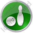 Bowling Circle Icon