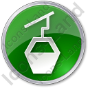 Cable Car Circle Icon
