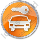 Car Safety Circle Icon