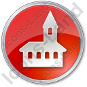 Church Circle Icon