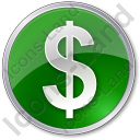 Currency Dollar Circle Icon