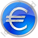 Currency Euro Circle Icon