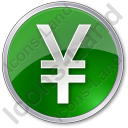 Currency Yen Circle Icon