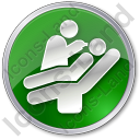 Dentist Treatment Circle Icon