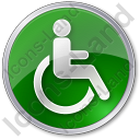Disabled Circle Icon