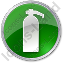Fire Extinguisher Circle Icon