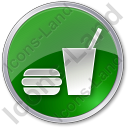 SnackBar Circle Green Icon