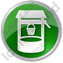 Well Circle Green Icon